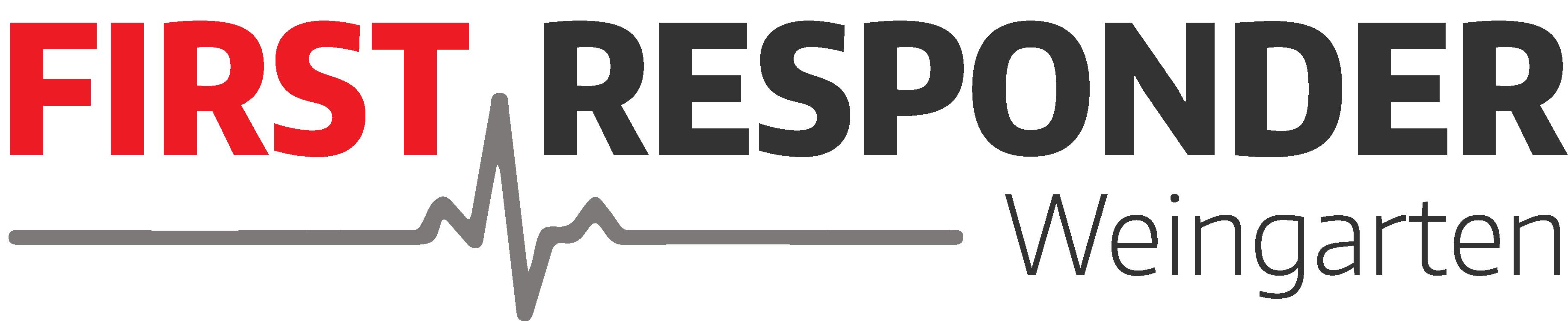 Logo First Responder Weingarten